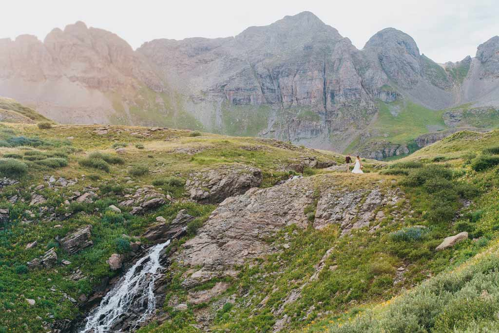 Mountaintop Elopement Silverton, Colorado